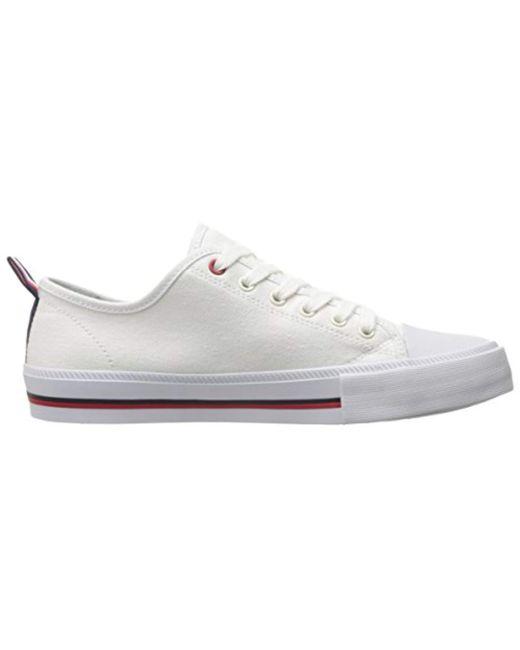 e98d53a00de42d Lyst - Tommy Hilfiger Tayla Sneaker in White - Save 17%