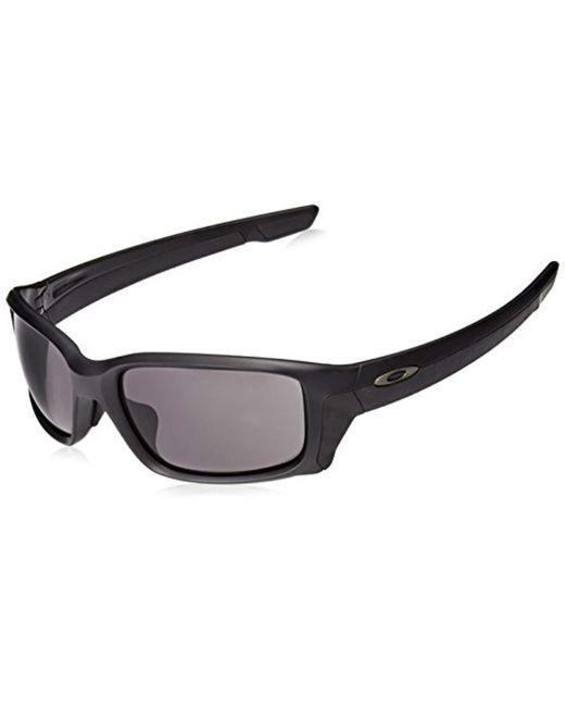 1222e713ab Oakley - Black Oo9336 58 Straightlink Sunglasses 61mm for Men - Lyst ...