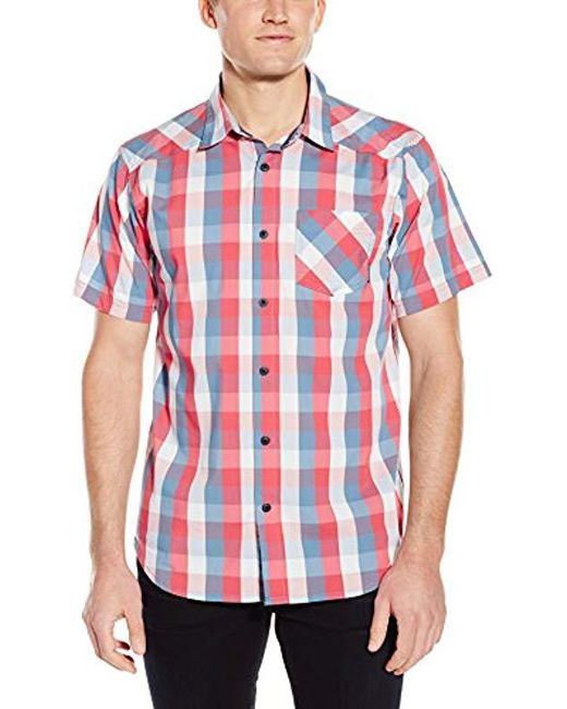 Columbia - Red Decoy Rock Ii Short Sleeve Shirt for Men - Lyst