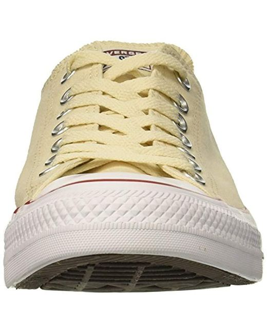 f74517673f7c ... Converse - Natural Chuck Taylor All Star Low Top Sneaker - Lyst ...