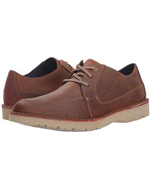 f1a8ec60907 ... Clarks - Brown Vargo Walk Oxford for Men - Lyst ...