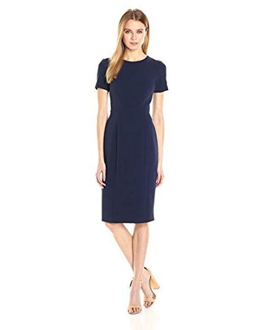 fe7d682a50d Black Halo - Blue Jodee Sheath Dress - Lyst ...