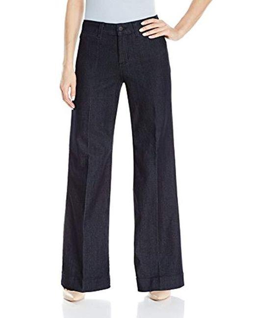 72d394187d6cf NYDJ - Blue Teresa Trouser Jeans In Premium Denim - Lyst ...
