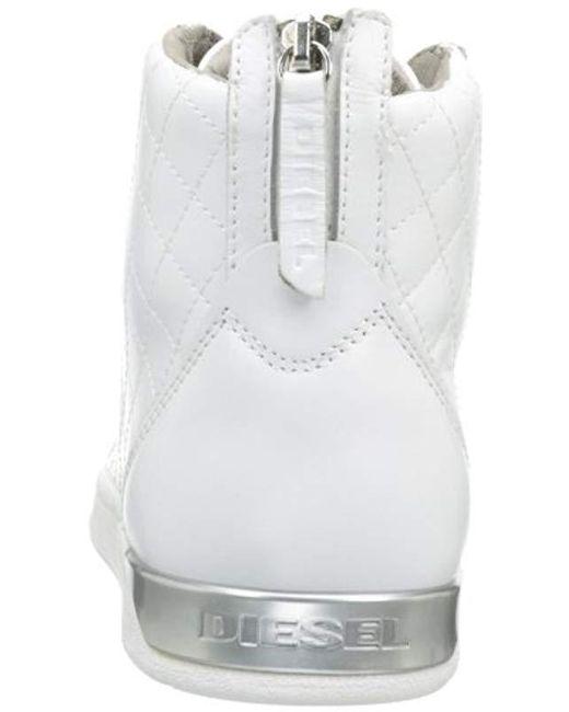 f18ac08807e3 Lyst - DIESEL Tempus Diamond Sneaker
