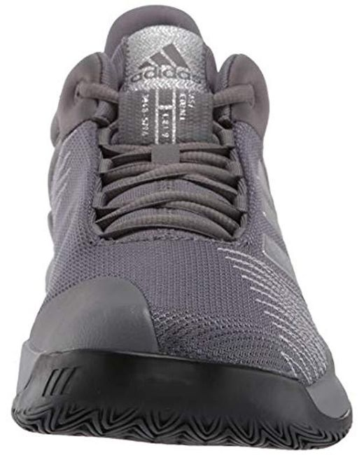 f3d937c19fe ... Adidas - Gray Pro Spark 2018 Low for Men - Lyst ...