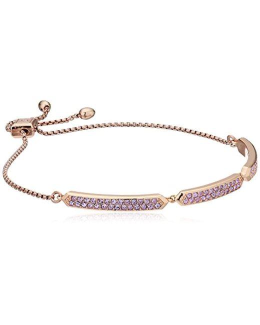 Vera Bradley - Metallic S Sparkling Slider Bangle Bracelet - Lyst