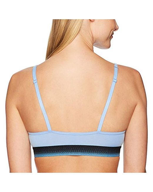 d8096a127d ... Mae - Blue S Modal Cotton Triangle Bralette With Ombre Elastic (for A-c  Cups) ...