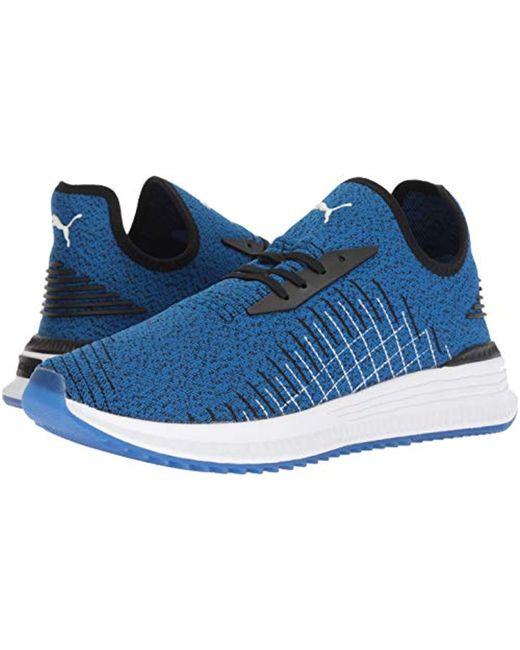 a8fda6c6f28a Lyst - PUMA Avid Evoknit Sneaker in Blue for Men - Save 51%