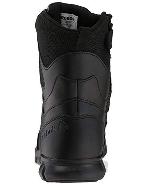 b55e27da7e18dc ... Reebok - Black Sublite Cushion Tactical Rb8805 Military   Tactical Boot  for Men ...