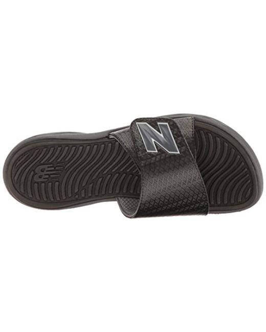 34f860e1caf ... New Balance - Black Response Slide Sandal for Men - Lyst