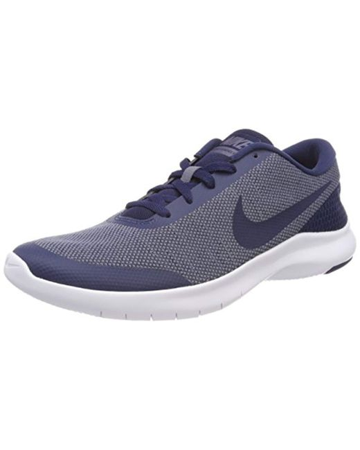 new style f0119 e1d01 Nike - Blue Flex Experience Rn 7 Running Shoe for Men - Lyst ...