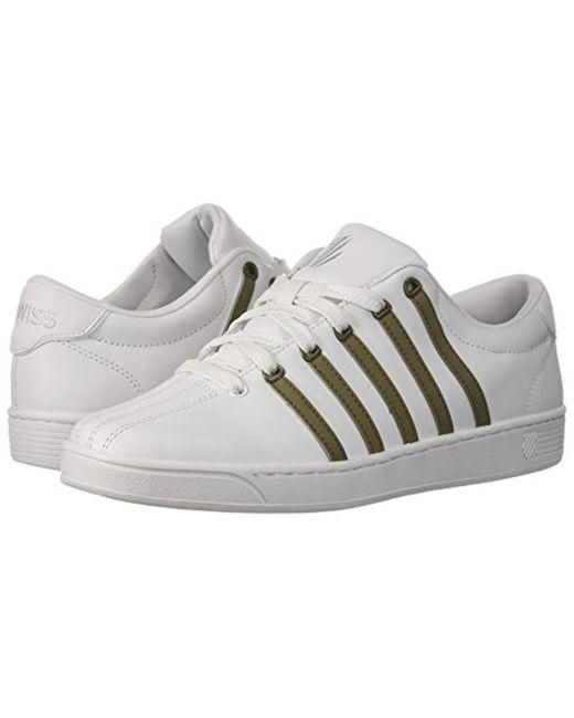 2f93c07cfed3 ... K-swiss - White Court Pro Ii Sp Cmf Fashion Sneaker for Men - Lyst ...