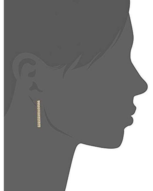 Fossil - Metallic Glitz Stick Stud Earrings - Lyst