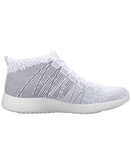 6b18cd559d2e ... Skechers - White Sport Burst Divergent Demi Boot Sneaker - Lyst ...