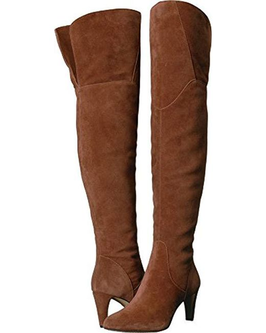 c85d4ca620d Lyst - Vince Camuto Armaceli Over The Over The Knee Boot in Brown ...