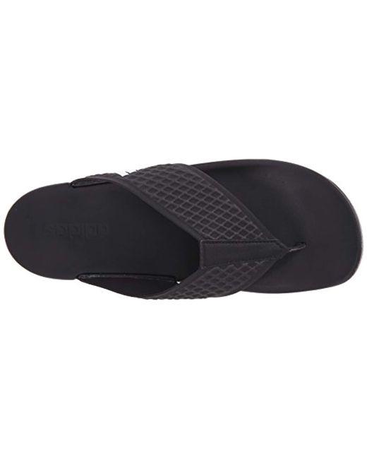 sale retailer 74136 3dfe9 ... Adidas - Black Adilette Cf Ultra Y Athletic Sandal for Men - Lyst