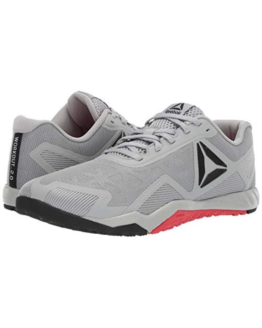 842845cf49d ... Reebok - Gray Ros Workout Tr 2.0 Cross-trainer Shoe for Men - Lyst ...