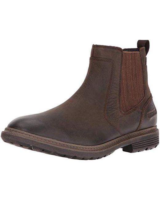 Rockport - Brown Urban Retreat Chelsea Boot for Men - Lyst