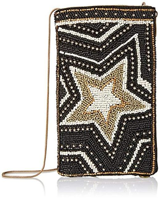Mary Frances - Black Star Power Crossbody Phone Bag - Lyst
