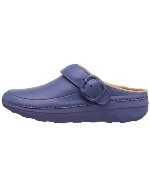 c476400e591 Lyst - Fitflop Gogh Pro Superlight-patent Clogs in Blue - Save 56%