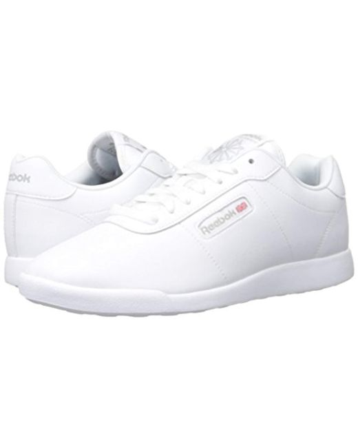 ed26c643b221 Lyst - Reebok Princess Lite Classic Shoe in White - Save 39%