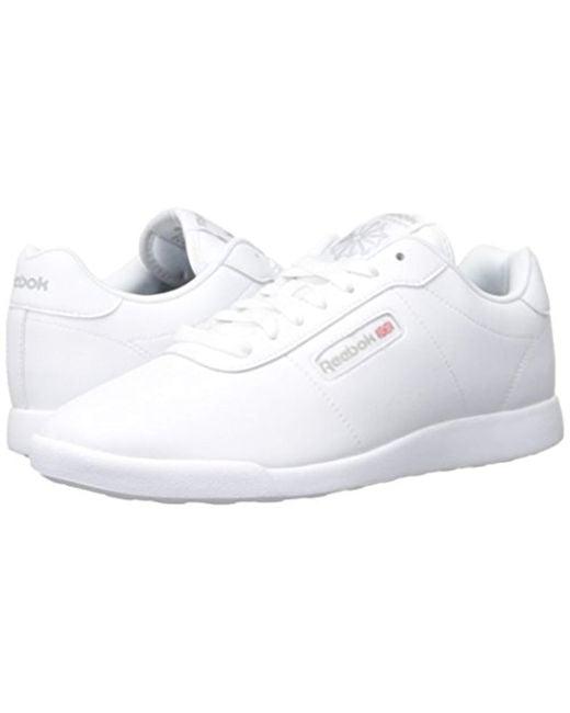 98e662ecf5f Lyst - Reebok Princess Lite Classic Shoe in White - Save 39%
