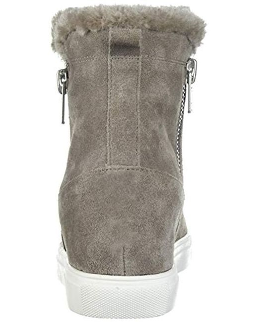 cfd78340a4367 Steven by Steve Madden Cacia Sneaker in Gray - Save 32% - Lyst