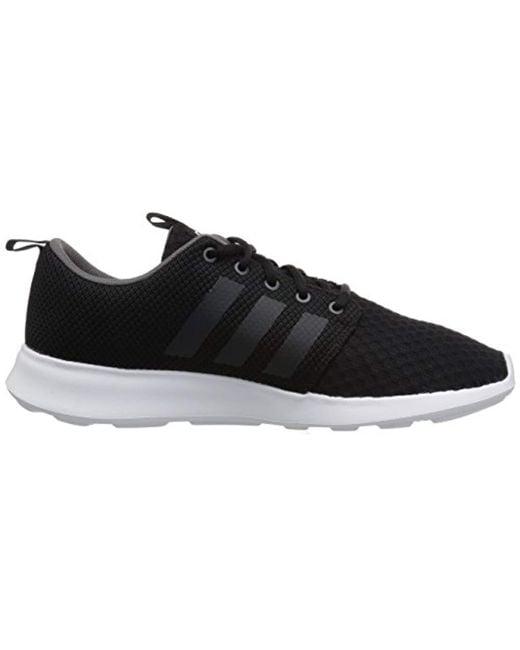 3256d88b77ff2 ... Adidas - Black Cf Swift Racer Sneaker for Men - Lyst ...