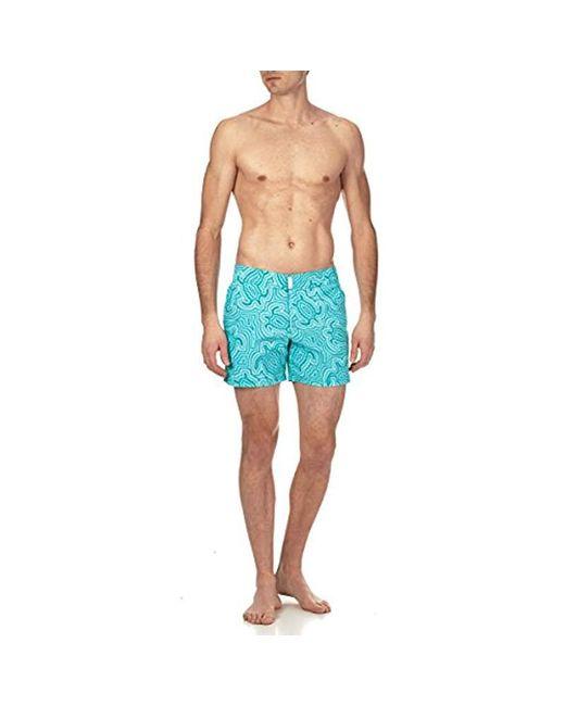0d7cd686e8b69 Vilebrequin Merise Solid Swim Trunk in Blue for Men - Save 3% - Lyst