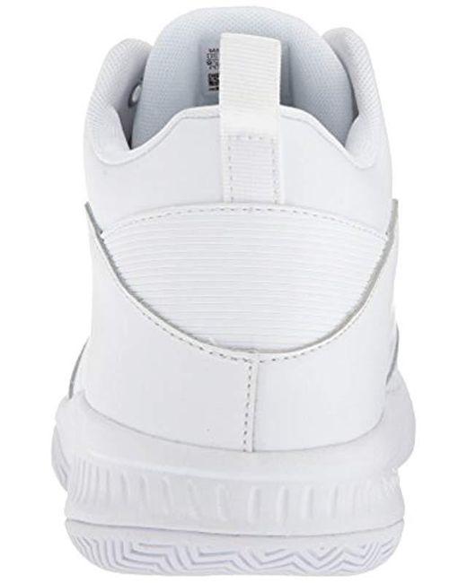 wholesale dealer 8f1bb 93a91 ... Adidas - White Cf Ilation 2.0 4e for Men - Lyst ...