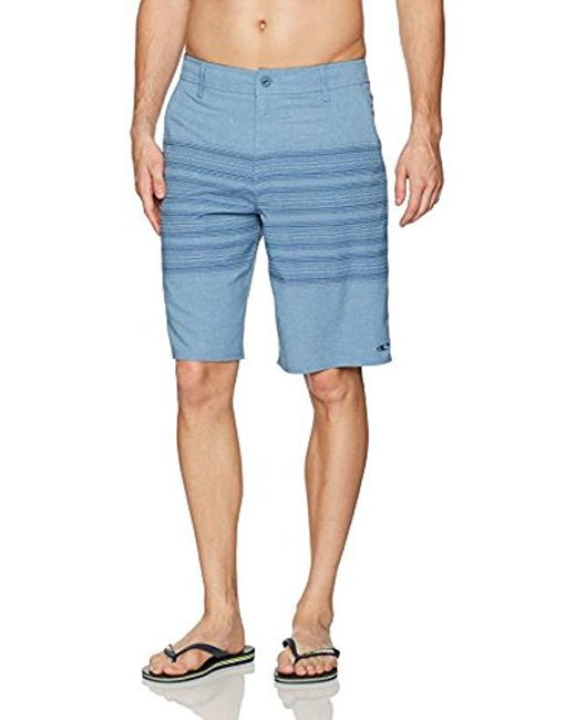 O'neill Sportswear - Blue Loaded Schematic Hybrid Short for Men - Lyst