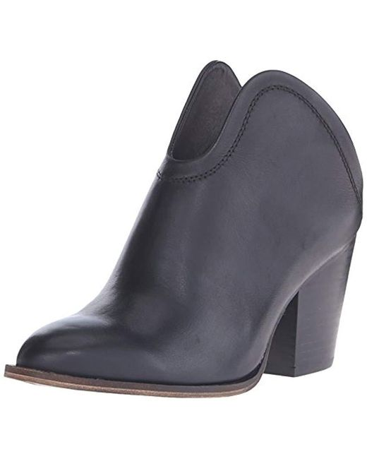 Chinese Laundry - Black Kelso Leather Ankle Bootie - Lyst