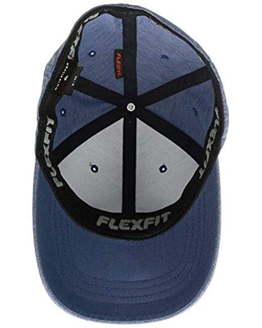 new product 91b85 8e6e4 low cost quiksilver sidestay cap 82f5c 13ecb  australia quiksilver blue  transit stretch hat for men lyst eaae0 f75ce
