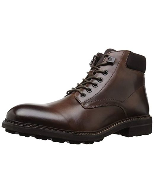 Kenneth Cole - Brown Design 10445 Combat Boot for Men - Lyst