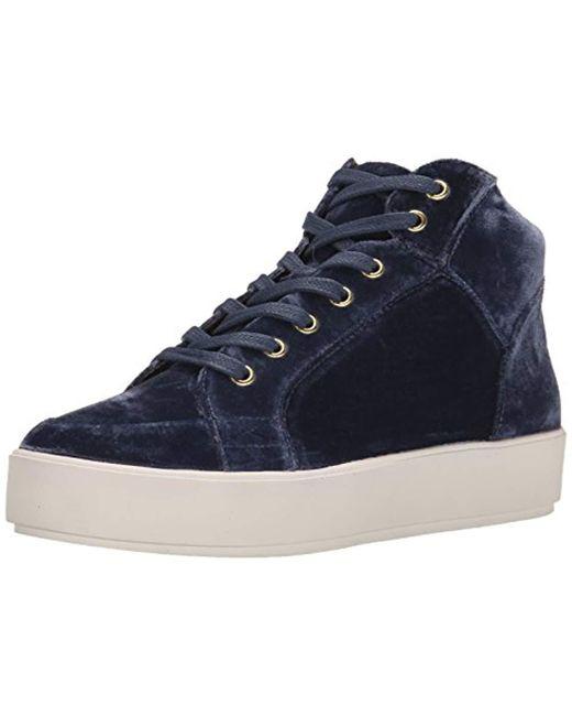 Nine West - Blue Verona Fabric Fashion Sneaker - Lyst