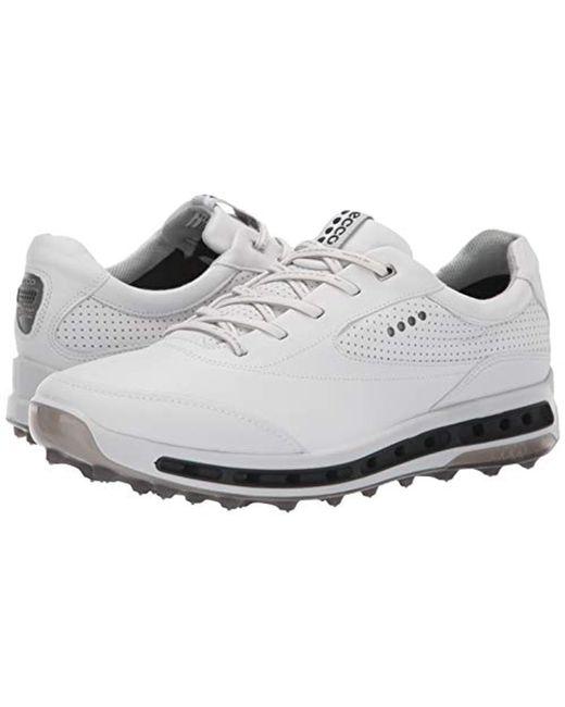 e6efcb0af48cd Ecco Cool Pro Gore-tex Golf Shoe in White for Men - Save 10% - Lyst