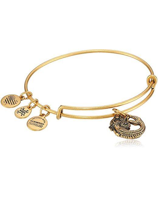 ALEX AND ANI - Metallic Mermaid Ii Necklace Bangle Bracelet - Lyst