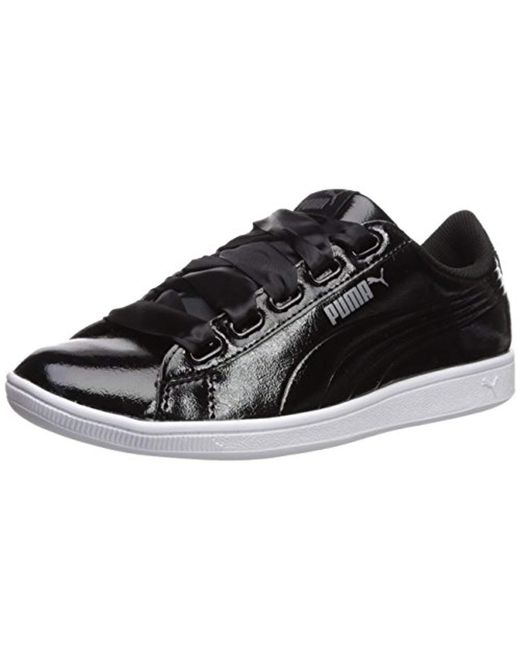39618007a3cd Lyst - PUMA Vikky Ribbon P Sneaker in Black - Save 57%