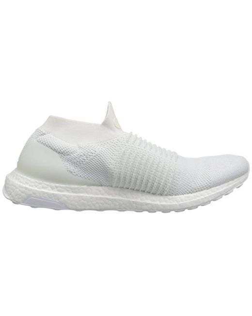 34c8df9903a62 ... Adidas - White Ultraboost Laceless for Men - Lyst ...
