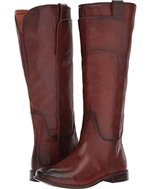 Frye - Red Paige Tall Riding Boot - Lyst