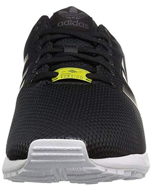 buy online d9d03 78b5c clearance adidas originals zx flux sneakerblack black white10 m us 5e5d3  86efc