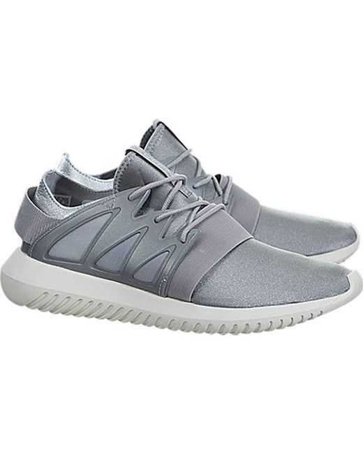 ... Adidas Originals - Metallic Adidas Tubular Viral W Fashion Sneaker - Lyst ...