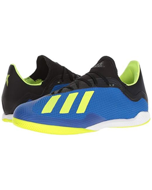 d35f525fe1e adidas X Tango 18.3 Indoor Soccer Shoe in Blue for Men - Save 6% - Lyst