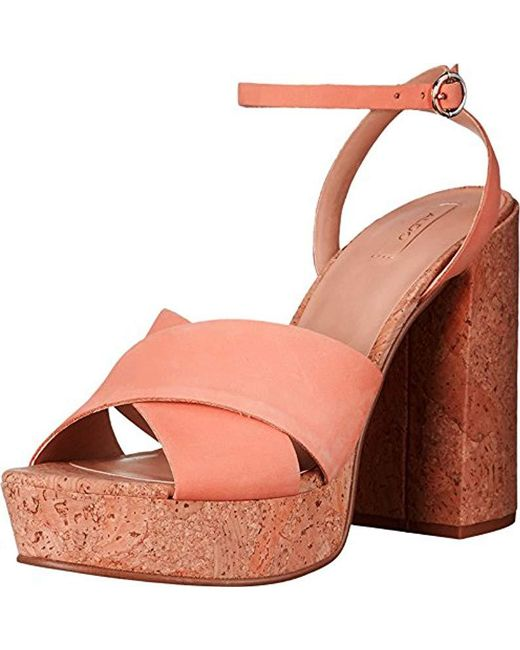 ALDO - Pink Rivalgo Dress Sandal - Lyst