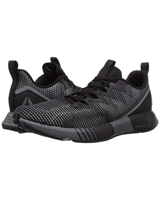 191727831 ... Reebok - Black Fusion Flexweave Sneaker for Men - Lyst ...