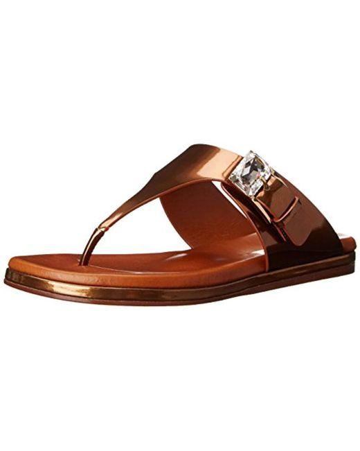 Casadei - Brown Candylux Footbed Dress Sandal - Lyst
