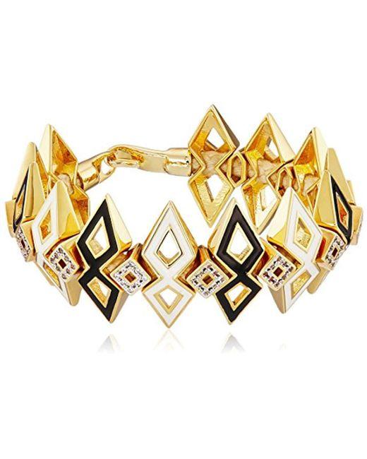 Noir Jewelry - Black Gelato Bracelet - Lyst