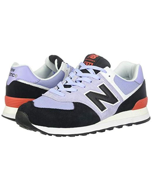wholesale dealer 4455b d2056 New Balance - Iconic 574 V2 Sneaker, Clear Amethyst/black, 5.5 W Us - Lyst
