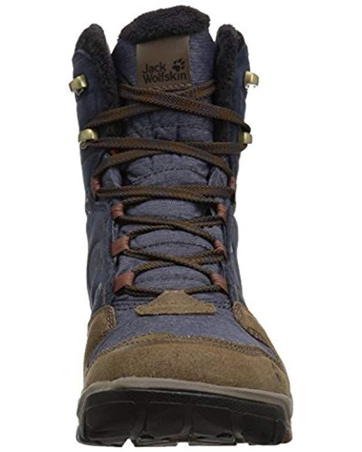 9d968c6a4a3 ... Jack Wolfskin - Blue Vancouver Texapore High M Fashion Boot for Men -  Lyst ...