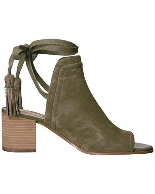 d15fe5bef74f Lyst - Sam Edelman Sampson Heeled Sandal in Green - Save 40%